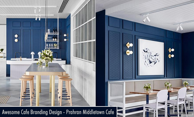 Kate Middleton inspired Cafe Branding Design - Prahran Middletown Cafe