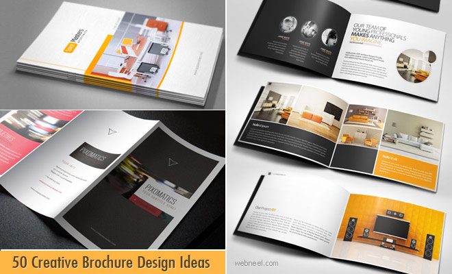 50 Creative Brochure Design Ideas for your inspiration