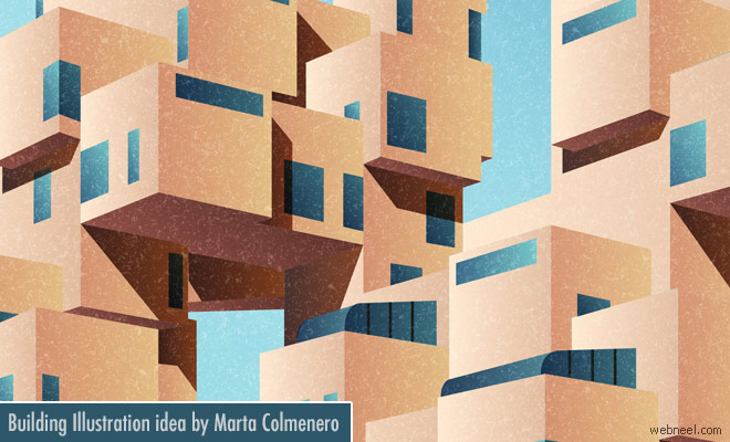 Creative Building Exterior Design ideas by Marta Colmenero