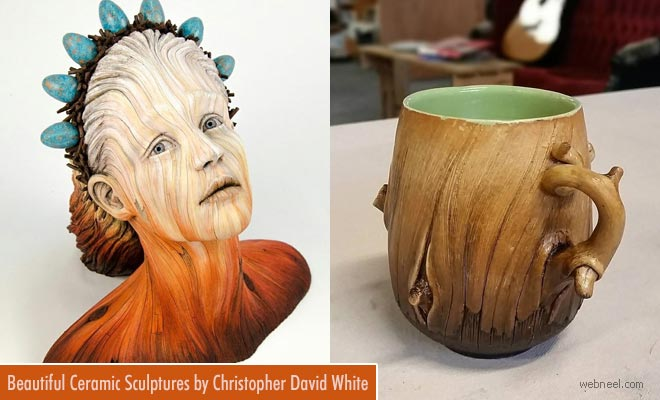 16 Beautiful Ceramic Sculptures by Christopher David White