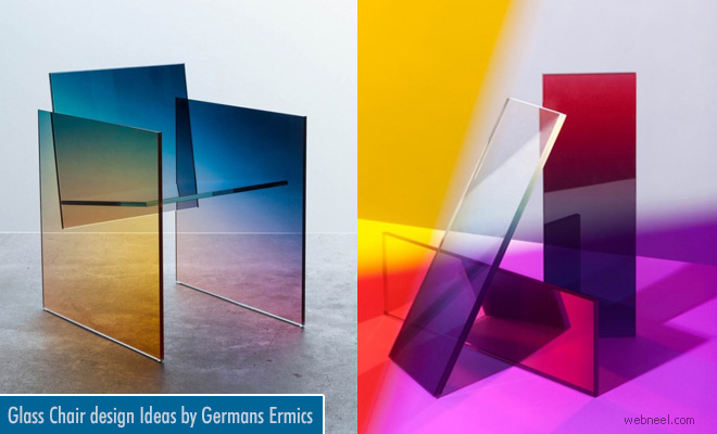 Ombre Glass Series - Chair design Ideas by Amsterdam designer Germans Ermics