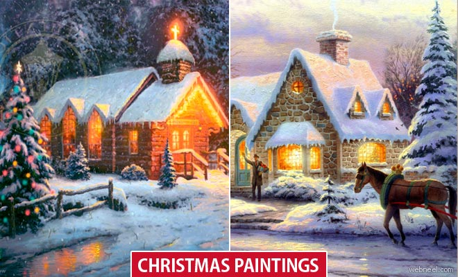 Christmas Paintings