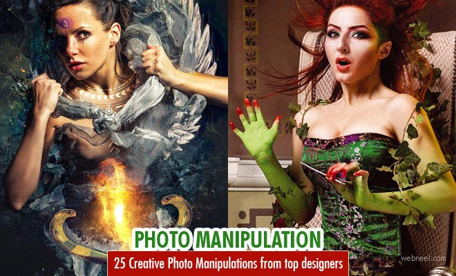 25 Creative and Stunning Photo Manipulation designs from top designers