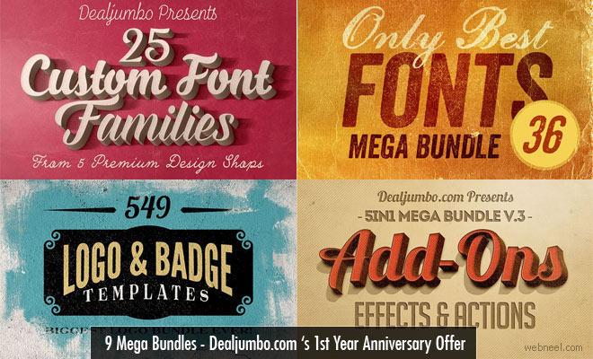 9 Best Selling Mega Bundles - 1st Year Anniversary Offer of Dealjumbo.com