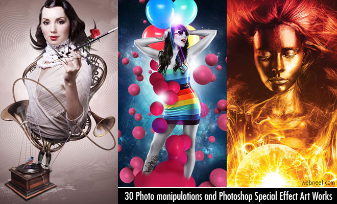 25 Best Photo Manipulations works from famous designers