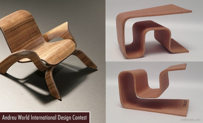 Andreu World International Design Contest 2017 calls for entries Nov 24