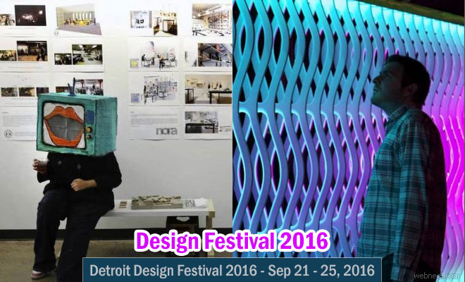 Gear up for Detroit Design Festival - 21 Sep 2016