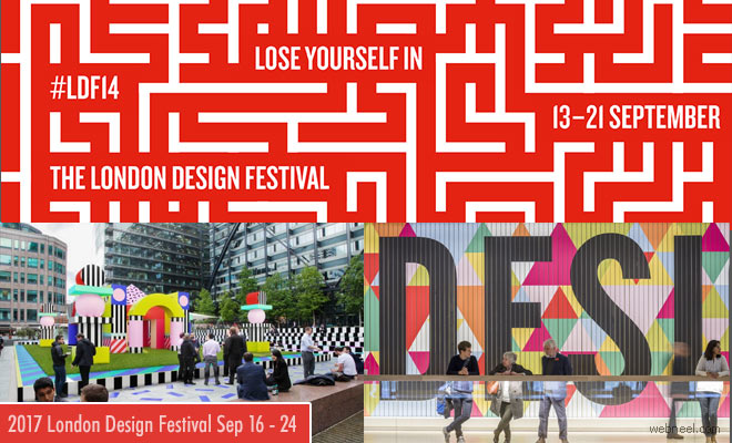 Dont Miss 2017 London Design Festival September 16 - 24