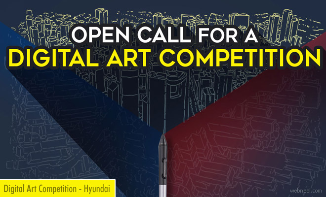 2017 Hyundai Digital Art Competition - Submit entries before Oct 13
