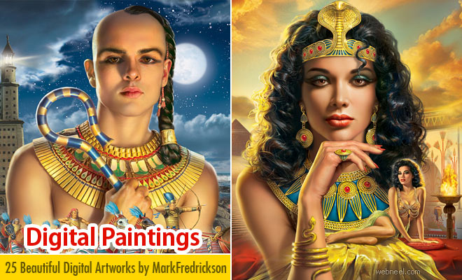 25 Beautiful Digital Art works and illustrations by Mark Fredrickson