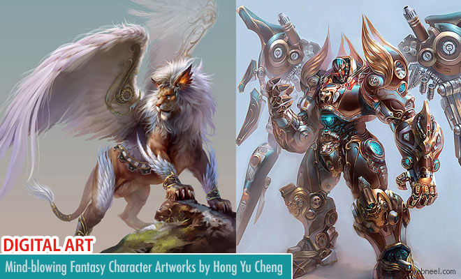 25 Mind-Blowing Digital Art works and Fantasy Character designs by Hong Yu Cheng