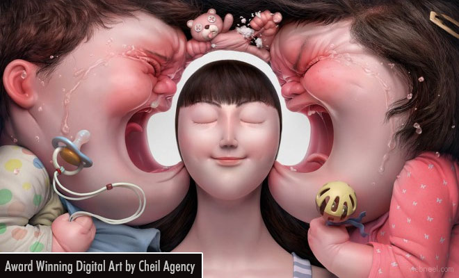 Award Winning Illusion Advertising Ideas and Digital Art works by Cheil Agency