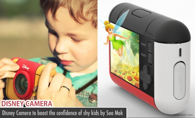 Disney Camera to boost the confidence of shy kids by Soo Mok