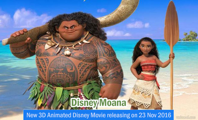 New 3D Animated Disney Movie Moana releasing on 23 Nov 2016