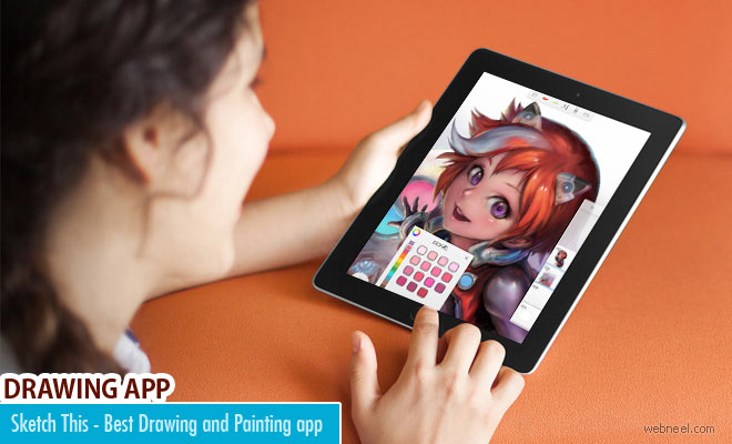 Sketch This - Amazing drawing and painting app for IOS and Android phones