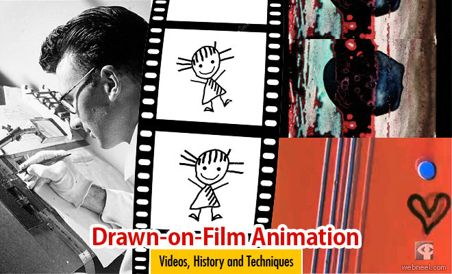 Drawn-on-Film Animation