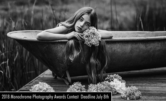 2018 Monochrome Photography Contest Accepting Entries Till November 18th