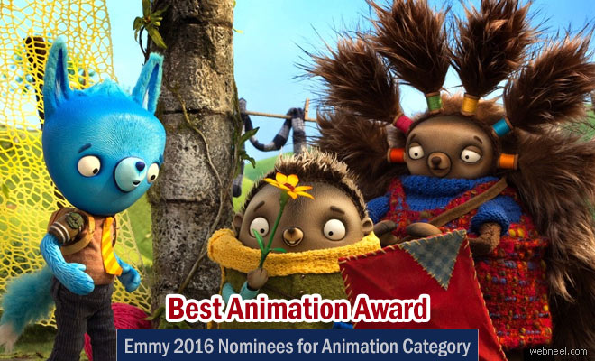 2016 Emmy Awards nominees for Animation Category