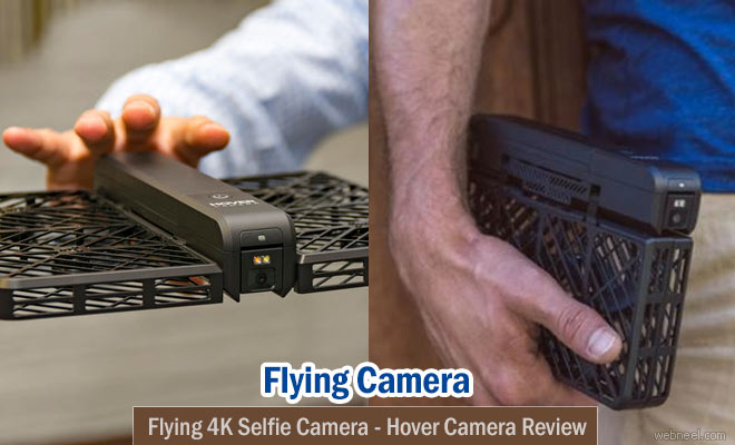 Flying 4K Selfie Camera - Hover Camera Review