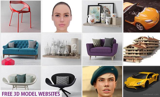 Free 3D Model Websites