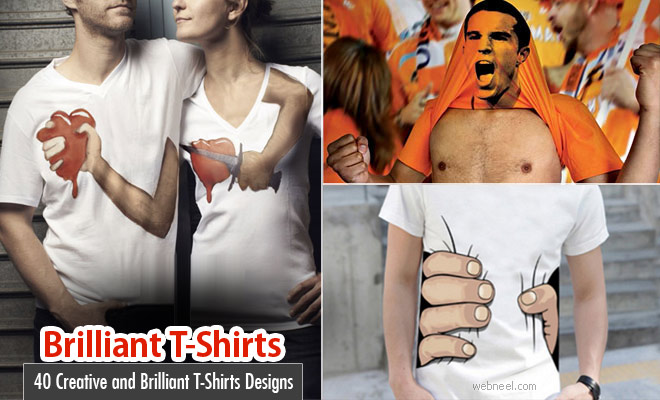 40 Creative and Brilliant T-Shirts Designs and Ideas for your inspiration