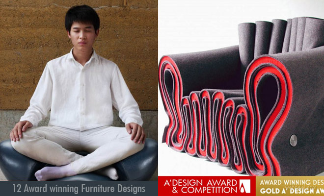 12 Best Award winning Furniture Designs from A Design Contest 2018
