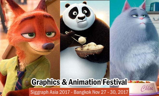 Get ready for the Siggraph Asia Graphics and Animation Festival at Bangkok