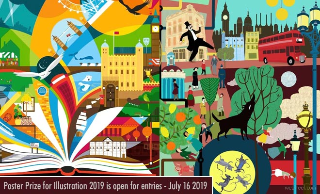 Poster Art and Design Contest by London Transport Museum - 16 July 2018