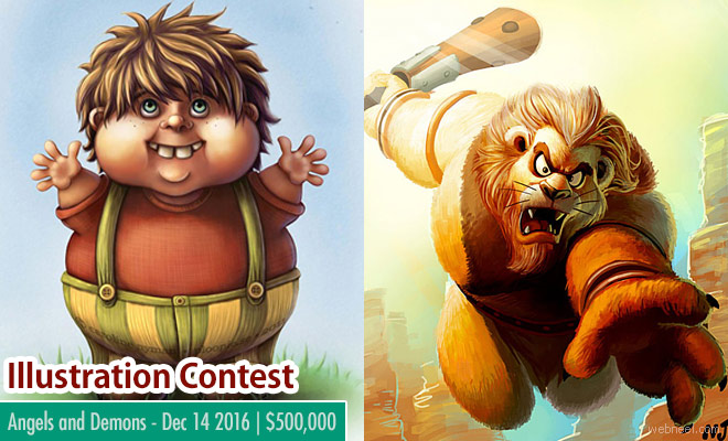 Art Contest - Entries by Dec 14 2016 to win a whooping $500,000 prize money