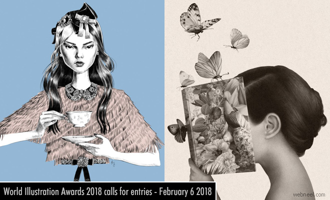 World Illustration Awards 2018 calls for entries - 6 February 2018