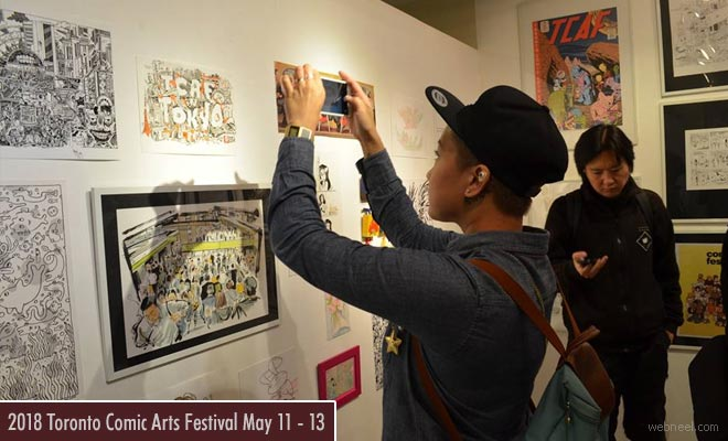 Toronto Comic Art Contest - An Exhibition of Graphic Novels and Illustrations 11th - 13th May 2018