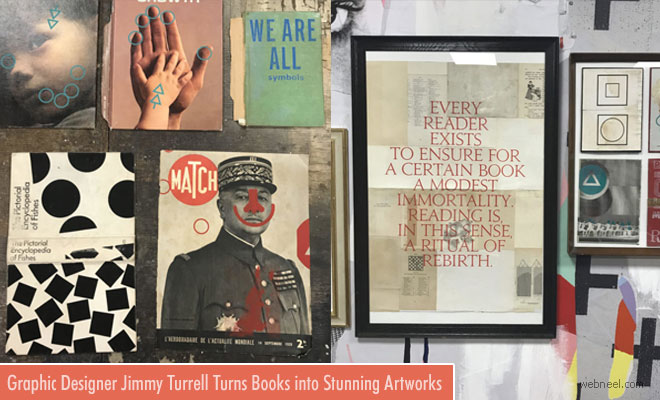 Over 1000 Books Rescued and Turned into Art By Jimmy Turrell
