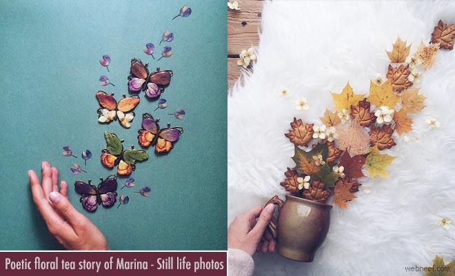 Exquisite Floral Tea Story by Marina Malinovaya - Still Life Photography Ideas