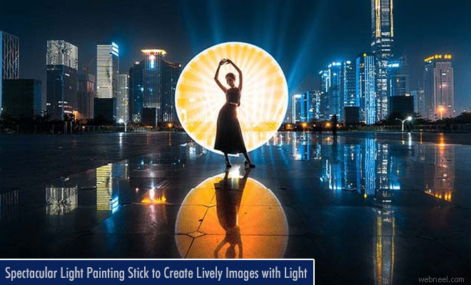 Spectacular Light Painting Stick to create lively images with light - Magilight