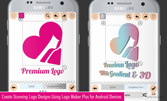 Logo Maker Plus - An inventive way of creating logos on your Android phones