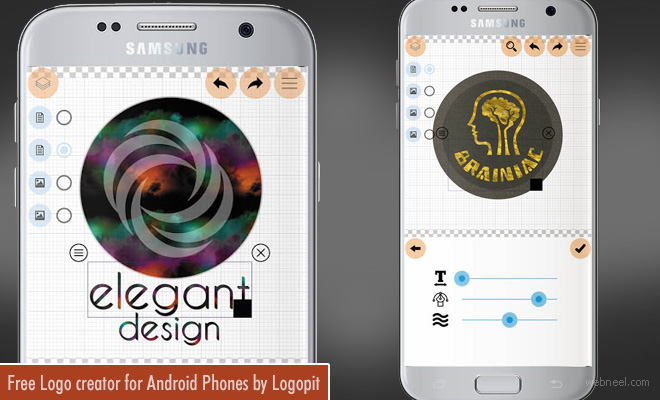 Logo Maker Plus - Free Logo design App for Android Phones by Logopit