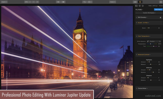 Speed-up your Professional Photo Editing With Luminar Jupiter Update