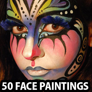 50 Beautiful Face painting Ideas for your inspiration - part 2