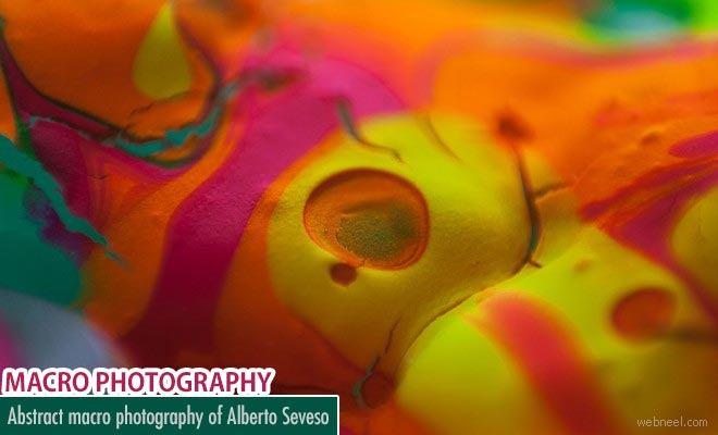 Colorful Abstract Macro Photography ideas By Alberto Seveso