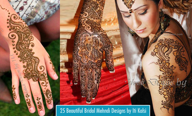 25 Beautiful Henna Bridal Mehndi Designs by Iti Kalsi