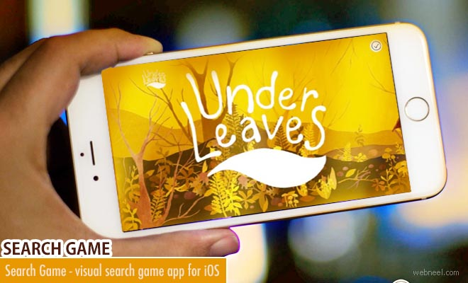 Under Leaves - A charming visual Search Game app for iOS