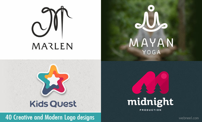 40 Modern and Creative Logo Design examples for your inspiration