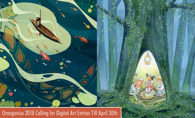 Digital Art Contest - 2018 Orangenius calling for entries till April 30