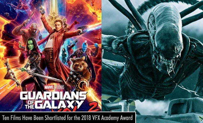 Ten Films Have Been Shortlisted for the 2018 VFX Academy Award