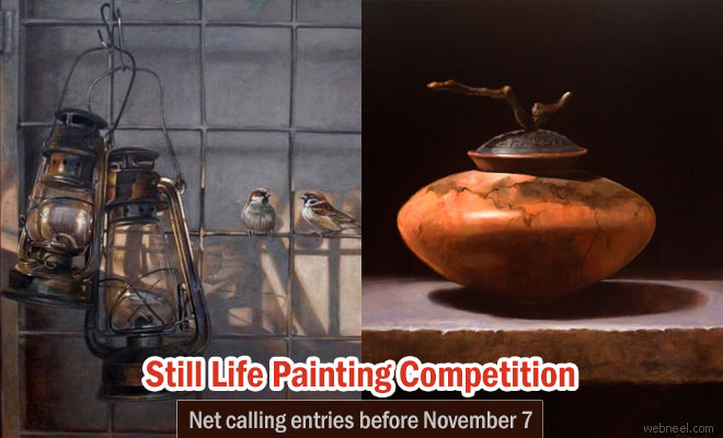 Still Life Art competition calling for entries before Nov 07 2016
