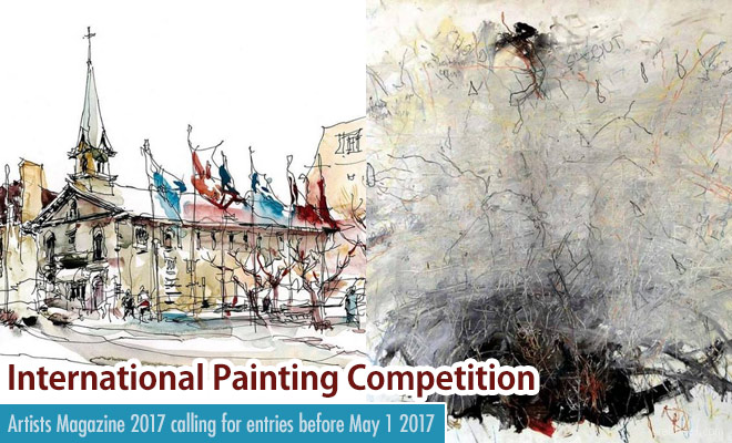 Painting Competition - Artists Magazine calling for entries before May 1st 2017