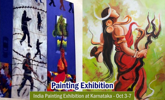India Painting exhibition to be held at Vibhuti Art Gallery from Oct 3 - 7