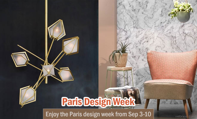 Enjoy the Paris design week from September 3rd - 10th, 2016