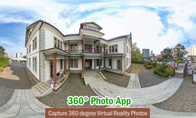 Capture 360 degree Virtual Reality Photos by Cardboard Photography App