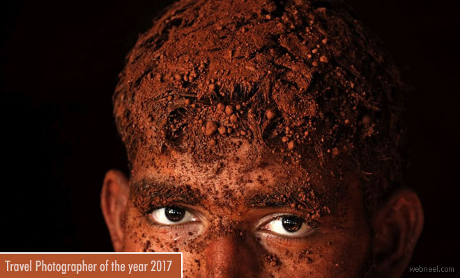 Portrait of Indian Wrestling by Belgian Photojournalist Alain Schroeder bags Travel Photographer 2017